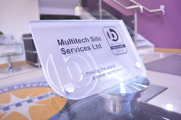 Multitech Site Services - Best Companies 'One To Watch' for 2015