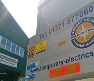 Contact Temporary Site Services and Temporary Electrics Specialists Multitech Site Services