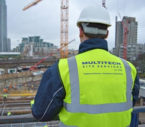 Multitech Site Services | Temporary Electrics | Temporary Site Services