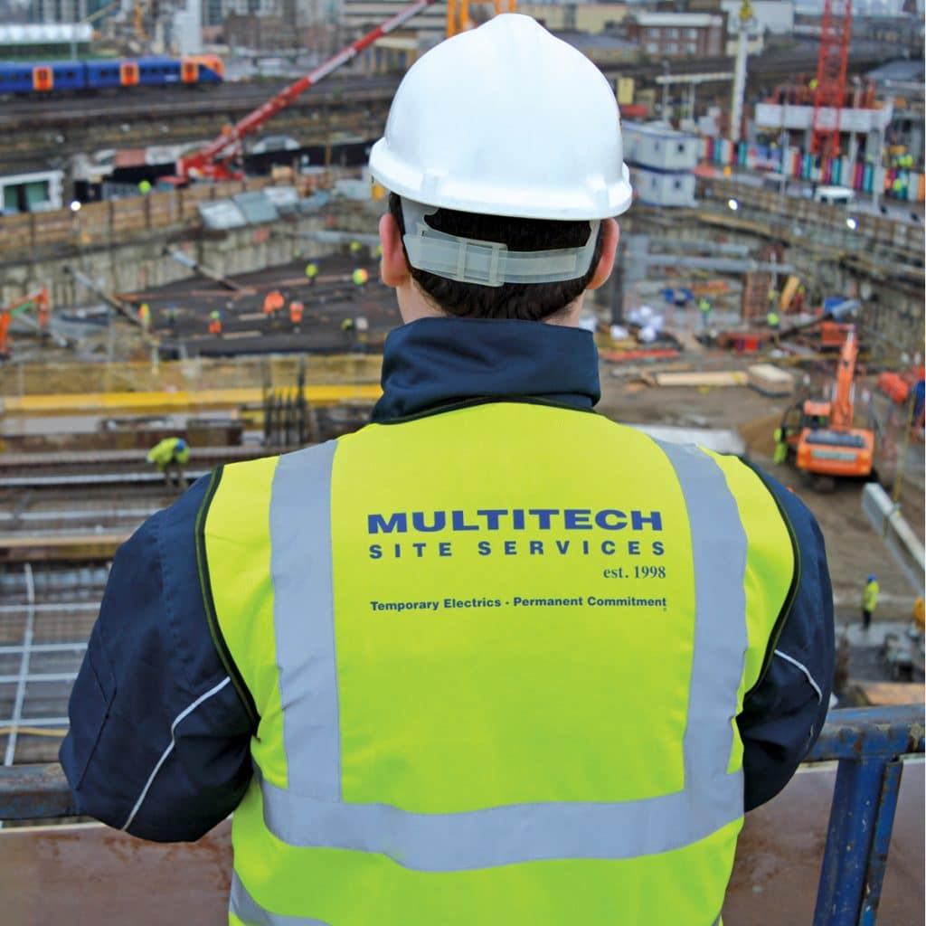 Electrical Installations for Construction Sites by Multitech Site Services