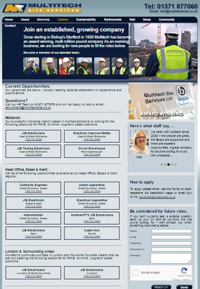 Career Opportunities at Multitech Site Services