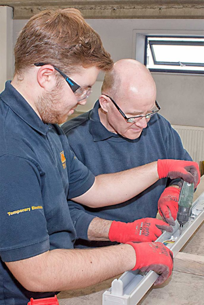 Electrical Training Program at Multitech Site Services in the UK