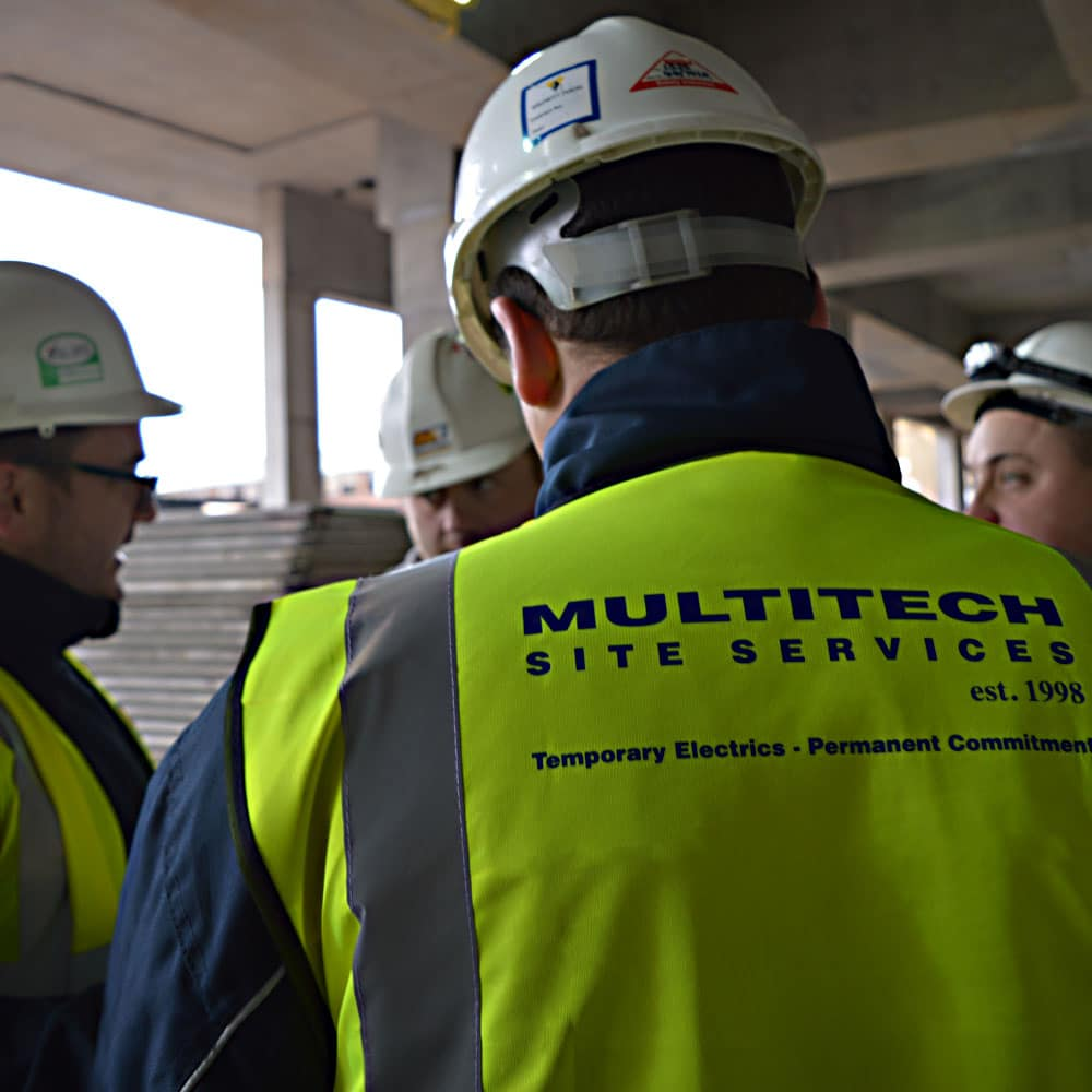 Become an Electrician with Multitech Site Services in the UK Essex and Midlands